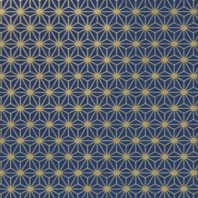 Asanoha Bleu